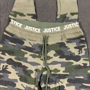 Justice active girls sweatpants